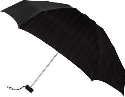 Leighton Umbrellas Genie pinstripes black/white - Leighton Umbrellas Umbrellas and Rain Gear
