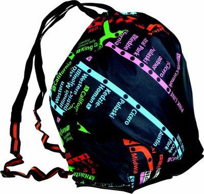 Leighton Umbrellas CTA Folding Backpack navy multi - Leighton Umbrellas Packable Bags
