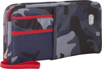 Lug Orange Label Collection - Scout Travel Wallet Camo Navy - Lug Travel Wallets
