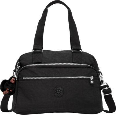 Kipling New Weekend Travel Duffel Bag Black - Kipling Luggage Totes and Satchels