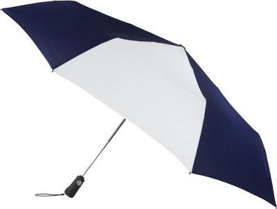 Totes totes Duet Navy/White - Totes Umbrellas and Rain Gear