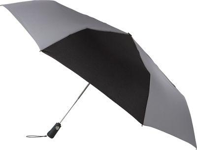 Totes totes Duet Black/Charcoal - Totes Umbrellas and Rain Gear