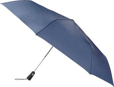 Totes totes Duet Steele Blue - Totes Umbrellas and Rain Gear