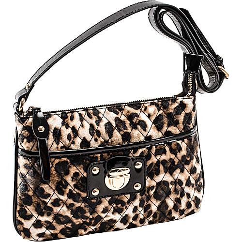 Parinda Leah Leopard - Parinda Manmade Handbags
