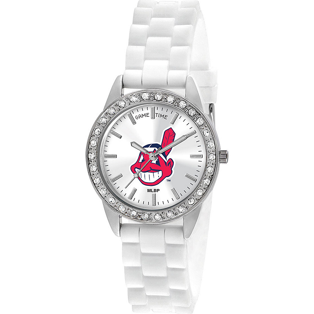 Game Time Frost-MLB Cleveland Indians - Game Time Watches - Fashion Accessories, Watches