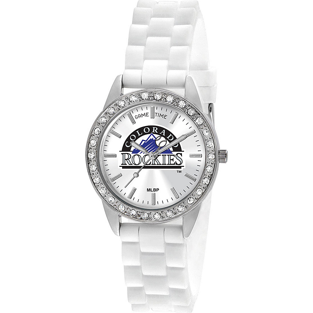 Game Time Frost-MLB Colorado Rockies - Game Time Watches - Fashion Accessories, Watches