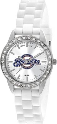 Game Time Frost-MLB Milwaukee Brewers - Game Time Watches