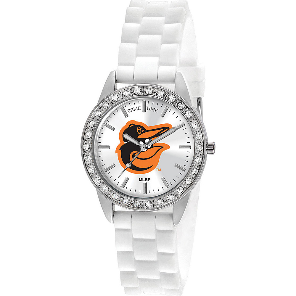 Game Time Frost-MLB Baltimore Orioles Cap logo - Game Time Watches - Fashion Accessories, Watches