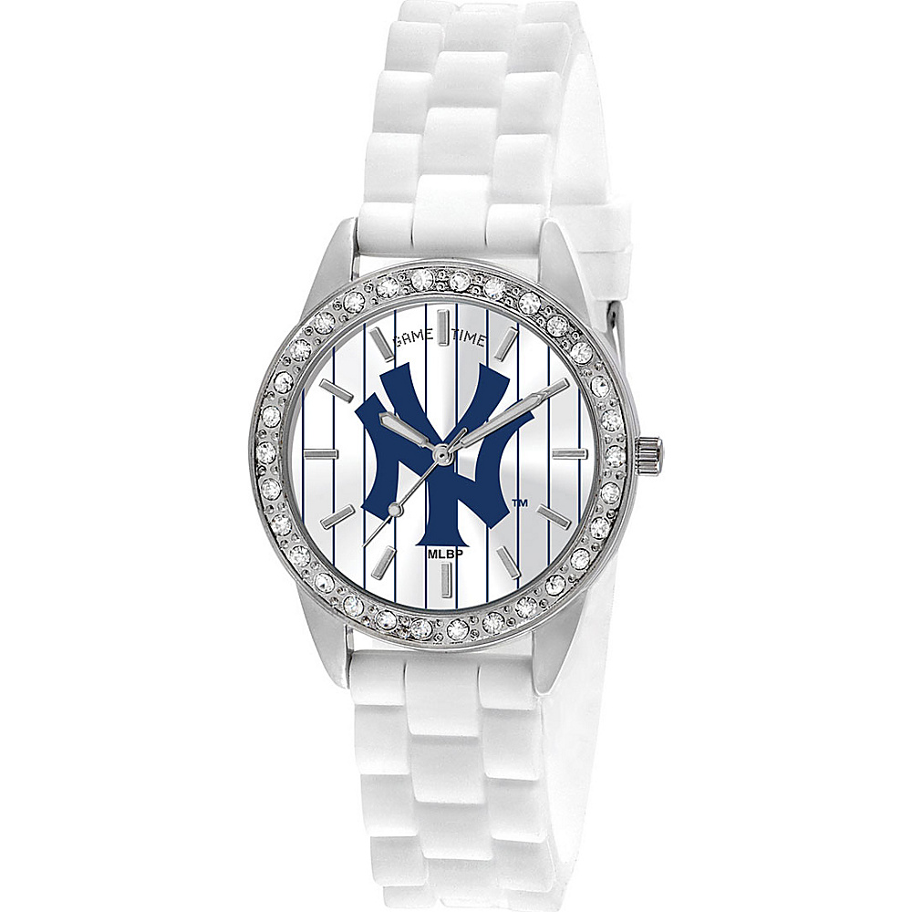 Game Time Frost-MLB New York Yankees NY Logo - Game Time Watches - Fashion Accessories, Watches