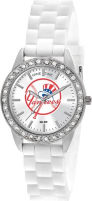 Game Time Frost-MLB New York Yankees  inchTop Hat inch Logo - Game Time Watches
