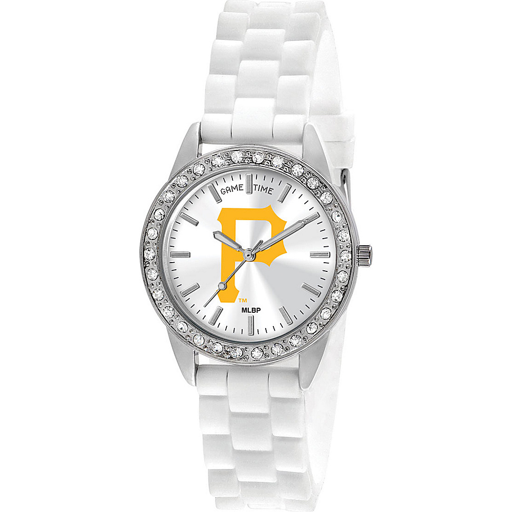 Game Time Frost-MLB Pittsburgh Pirates P logo - Game Time Watches - Fashion Accessories, Watches