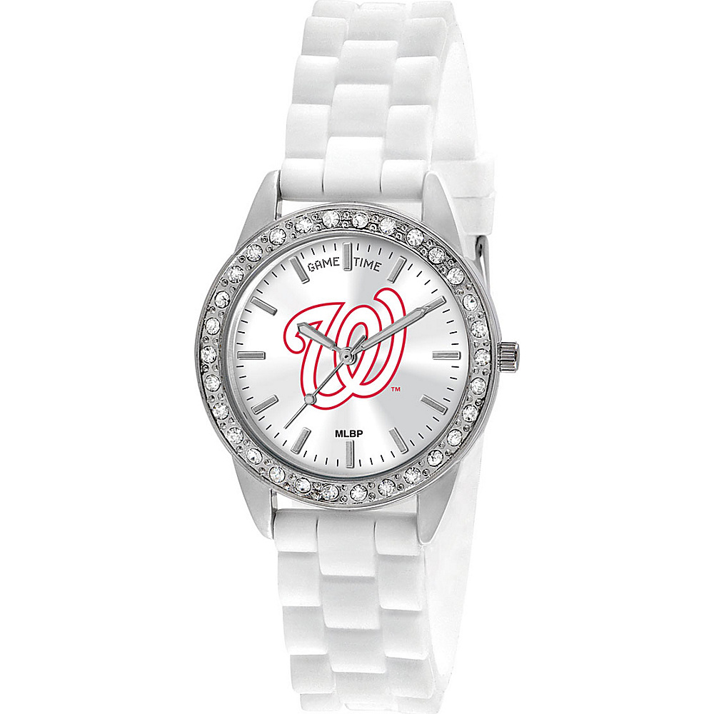 Game Time Frost-MLB Washington Nationals - Game Time Watches - Fashion Accessories, Watches