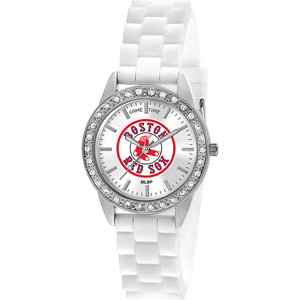 Game Time Frost-MLB Boston Red Sox Sox Logo - Game Time Watches - Fashion Accessories, Watches
