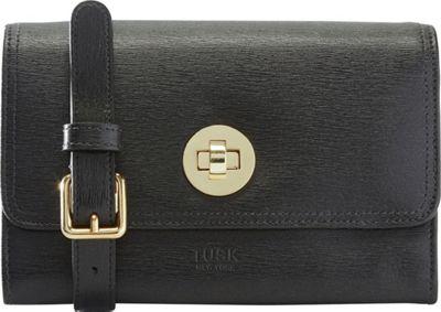 TUSK LTD Madison Mini Cross Body Bag Black - TUSK LTD Leather Handbags