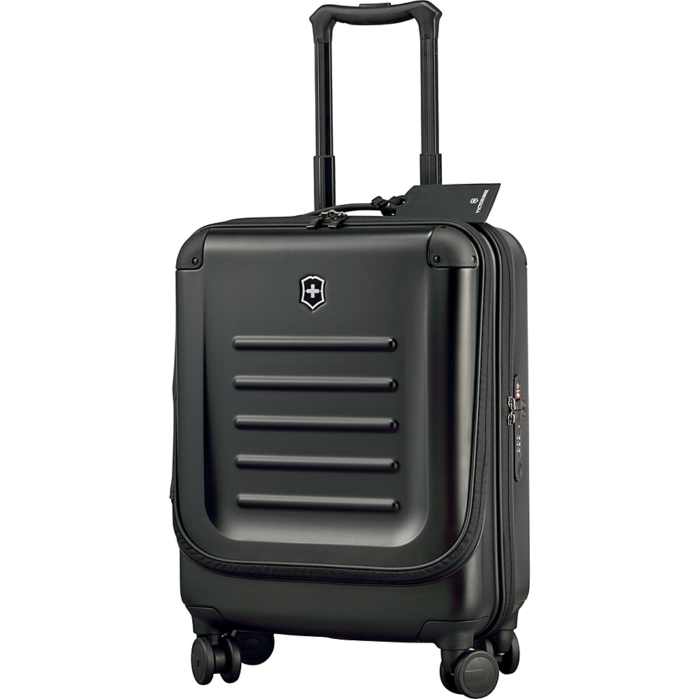 Victorinox Spectra 2.0 Dual Access Global Carry On Black Victorinox Softside Carry On