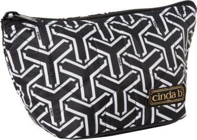 cinda b Medium Cosmetic II Jet Set Black - cinda b Women's SLG Other