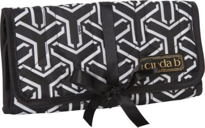 cinda b Jewelry Roll Jet Set Black - cinda b Travel Organizers