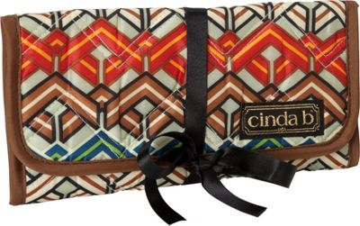 cinda b Jewelry Roll Ravinia Black - cinda b Travel Organizers