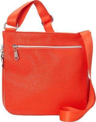 Urban Oxide Travel Crossbody Orange - Urban Oxide Manmade Handbags