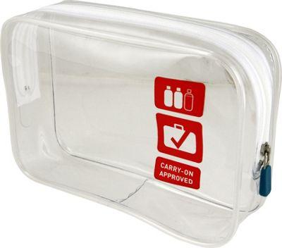 Flight 001 Clear Carry On Quart Bag S Ebags Com