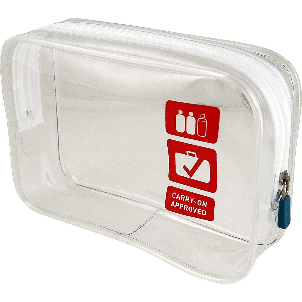 Flight 001 Clear TSA Approved Carry-On Quart Bag (S) Clear - Flight 001 Toiletry Kits