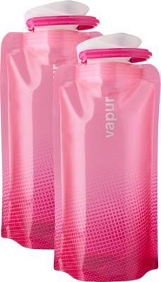 Vapur Shades 0.5L 2 pack Hot Pink - Vapur Hydration Packs and Bottles