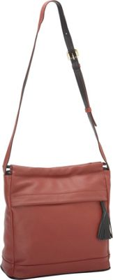 J. P. Ourse & Cie. Cherry Avenue Berry Red/Black - J. P. Ourse & Cie. Leather Handbags