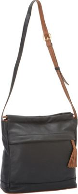 J. P. Ourse & Cie. Cherry Avenue Black/Tan - J. P. Ourse & Cie. Leather Handbags