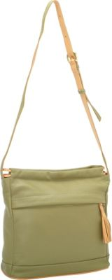 J. P. Ourse & Cie. Cherry Avenue Kiwi/Butter - J. P. Ourse & Cie. Leather Handbags