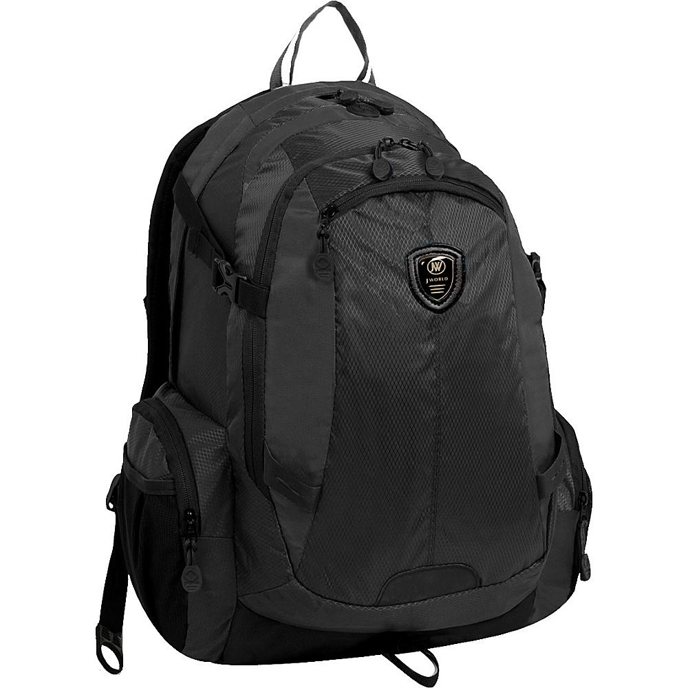 J World New York Quivera2 Laptop Backpack Black - J World New York Business & Laptop Backpacks - Backpacks, Business & Laptop Backpacks