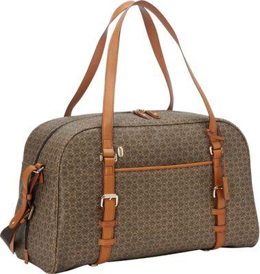 Hartmann Luggage Wings Belting Weekender Diamond Brown/Linen - Hartmann Luggage Luggage Totes and Satchels