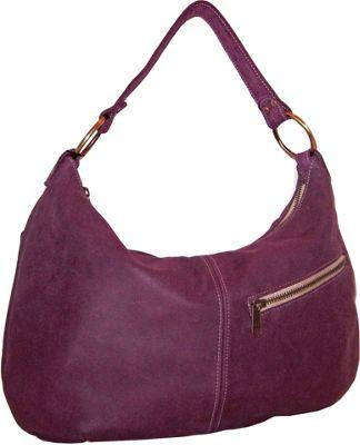 Brynn Capella Pamela Leather Hobo Royalty - Brynn Capella Leather Handbags