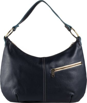 Brynn Capella Pamela Leather Hobo Old Royal - Brynn Capella Leather Handbags