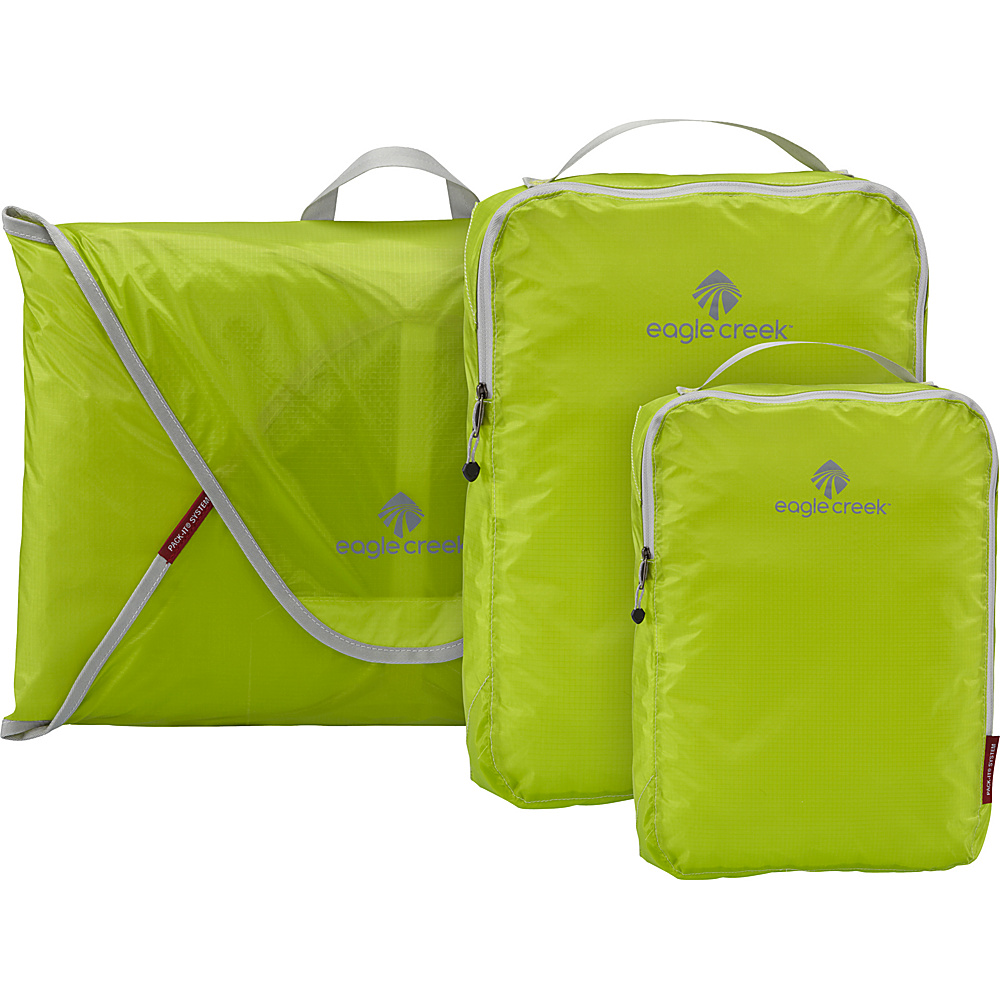Eagle Creek Pack-It Specter 3-Piece Starter Set Strobe Green - Eagle Creek Luggage Accessories - Travel Accessories, Luggage Accessories