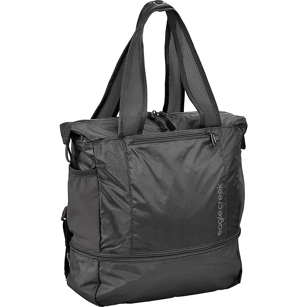 Eagle Creek 2-in-1 Tote/Backpack Black - Eagle Creek Lightweight packable expandable bags