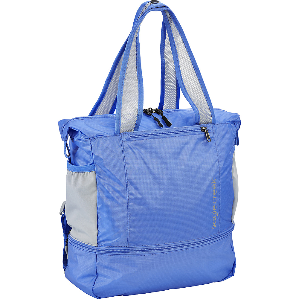 Eagle Creek 2-in-1 Tote/Backpack Breeze Blue - Eagle Creek Lightweight packable expandable bags
