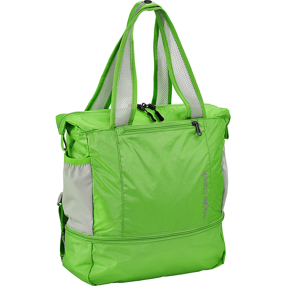 Eagle Creek 2-in-1 Tote/Backpack Mantis Green - Eagle Creek Lightweight packable expandable bags