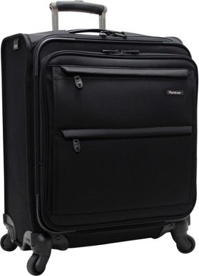 Pathfinder Revolution Plus 20 inch Wide Body Exp Carry On Black - Pathfinder Softside Carry-On