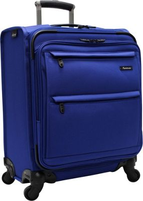 Pathfinder Revolution Plus 20 inch Wide Body Exp Carry On Blue - Pathfinder Softside Carry-On