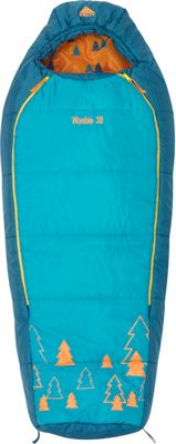 Kelty Woobie 30 Degree Sleeping Bag -  Short Right-Hand Viridian - Kelty Outdoor Accessories