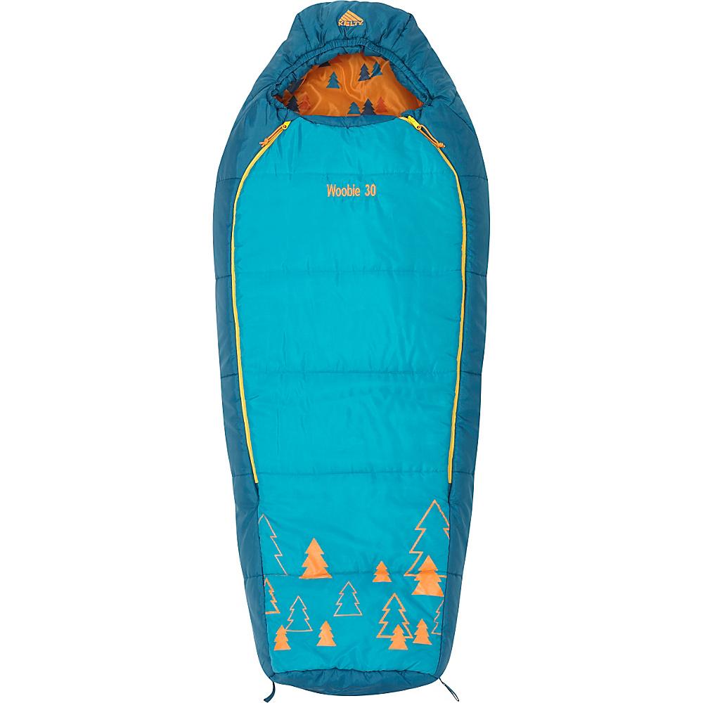 Kelty Woobie 30 Degree Sleeping Bag - Short Right-Hand Viridian - Kelty Outdoor Accessories