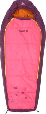 Kelty Woobie 30 Degree Sleeping Bag -  Short Right-Hand Hot Pink - Kelty Outdoor Accessories