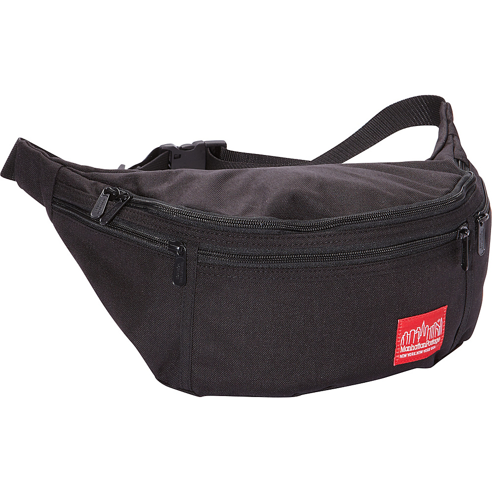 Manhattan Portage Alleycat Waist Bag (LG) Black - Manhattan Portage Waist Packs - Backpacks, Waist Packs