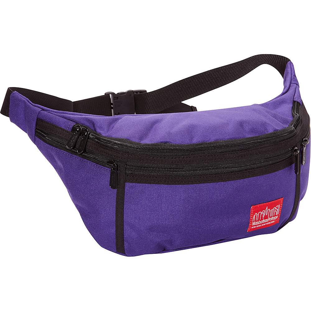 Manhattan Portage Alleycat Waist Bag (LG) Purple - Manhattan Portage Waist Packs - Backpacks, Waist Packs