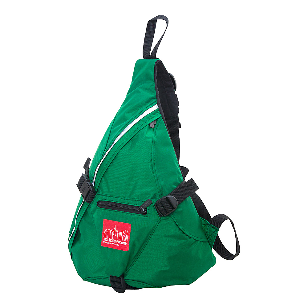 Manhattan Portage CORDURA Lite J-Bag (SM) Green - Manhattan Portage Everyday Backpacks - Backpacks, Everyday Backpacks