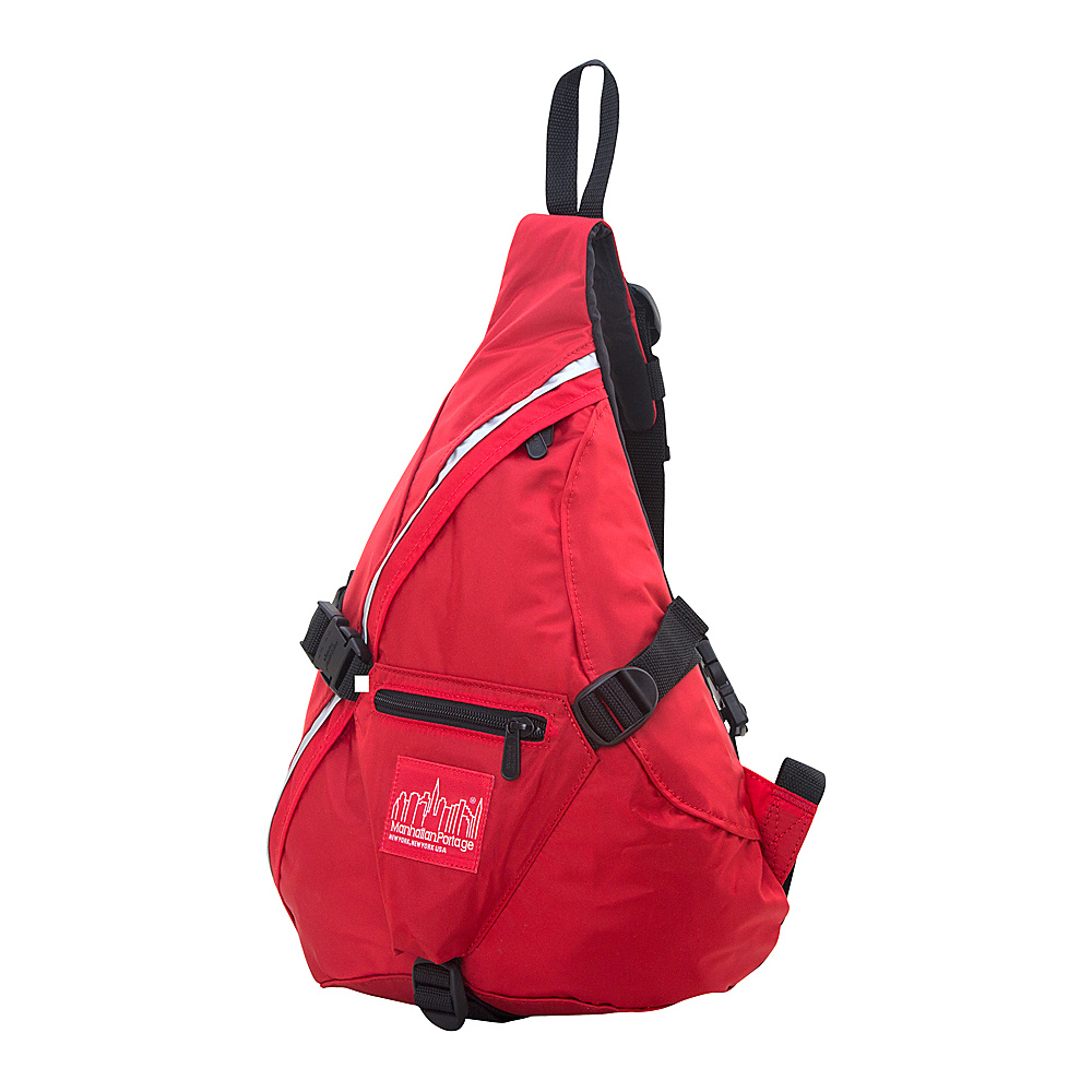 Manhattan Portage CORDURA Lite J-Bag (SM) Red - Manhattan Portage Everyday Backpacks - Backpacks, Everyday Backpacks
