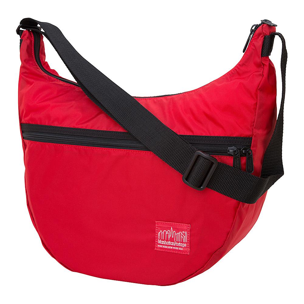 Manhattan Portage CORDURA Lite Nolita Shoulder Bag Red - Manhattan Portage Manmade Handbags - Handbags, Manmade Handbags