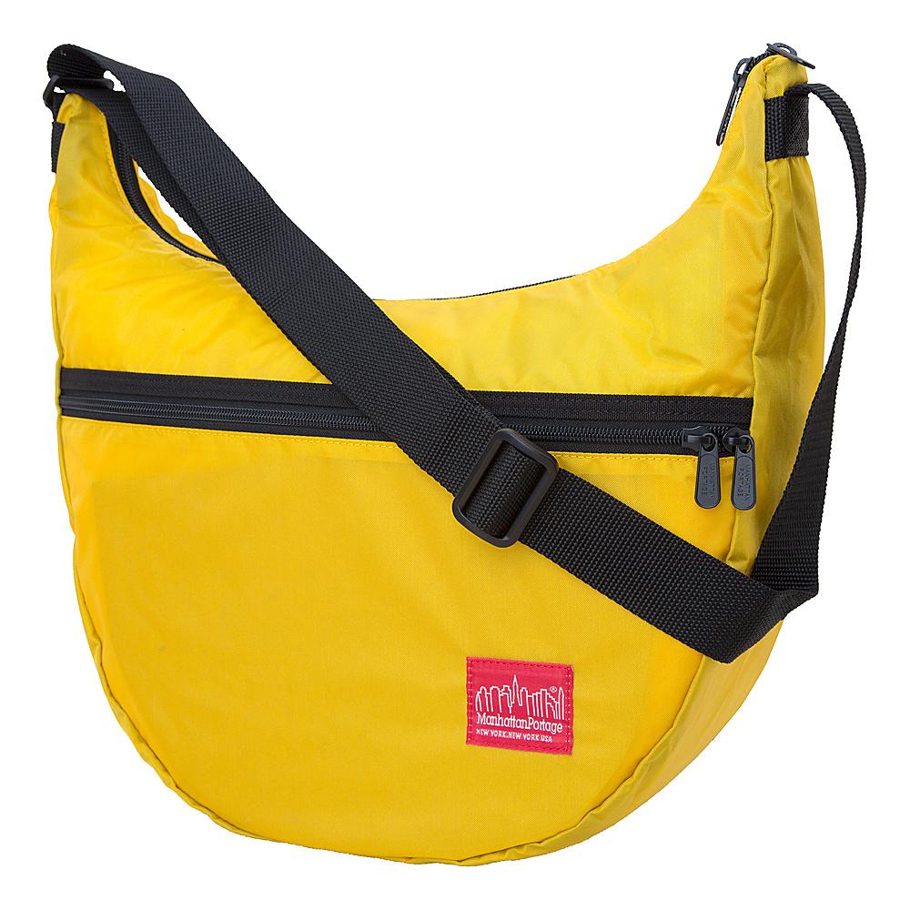 Manhattan Portage CORDURA Lite Nolita Shoulder Bag Yellow - Manhattan Portage Manmade Handbags - Handbags, Manmade Handbags
