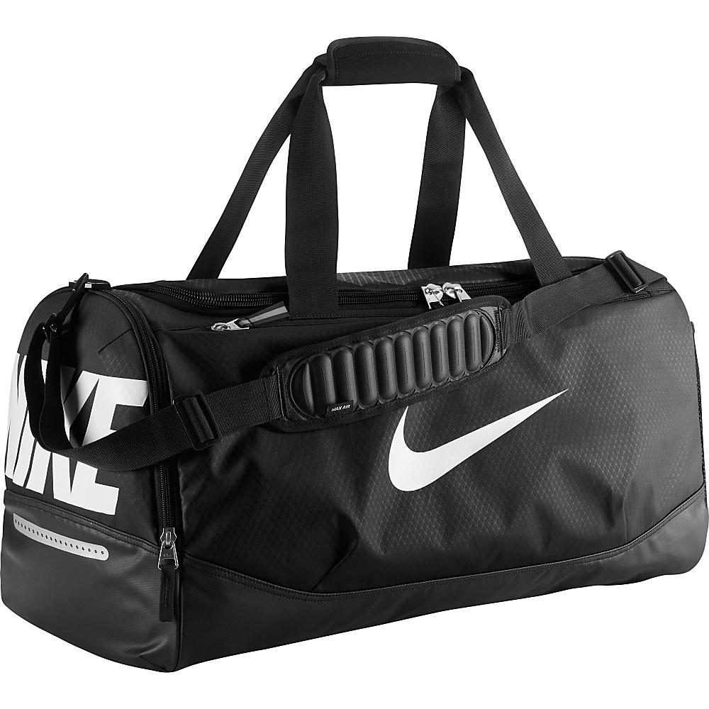 UPC 885259886502 product image for Nike Team Training Max Air Medium Duffel  Black Black  ... 3f92a1ce12609