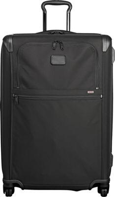 Tumi Alpha 2 Medium Trip Expandable 4 Wheeled Packing Case Black - Tumi Softside Checked